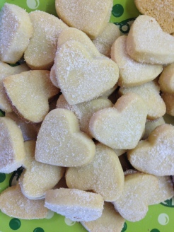 Mini Shortbread Hearts