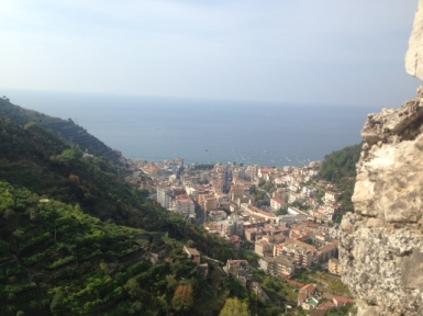 View from Castle of S.Nicola de Thoro-Plano